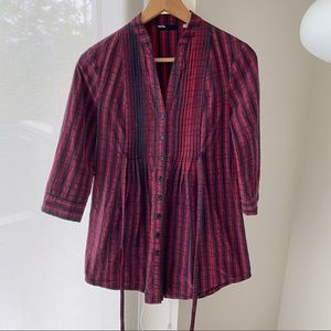 Urban Outfitters BDG Plaid Red Shirt in XS